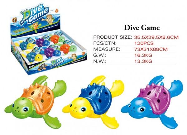 Wassertiere leuchtend - Schildkröten