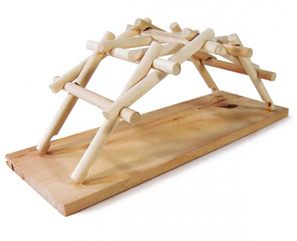 Leonardo Da Vinci - Brücke - Holzbausatz