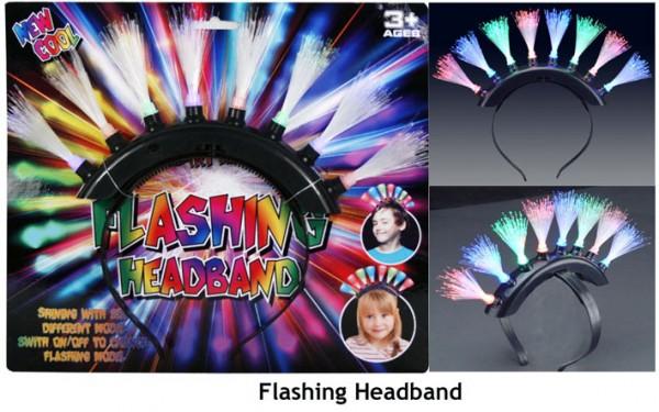 leuchtendes Haarband