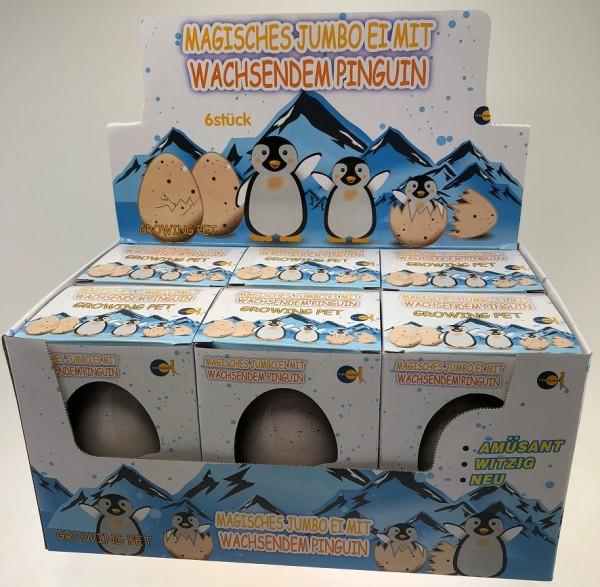 """Magische Jumbo Eier """"Pinguin"""""""