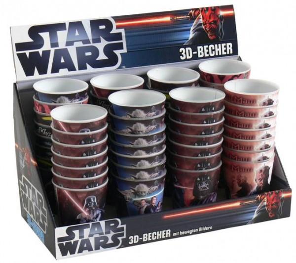 Star Wars 3D Becher