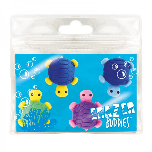 Radiergummi Minis - Eraser Buddies - Schildkröten