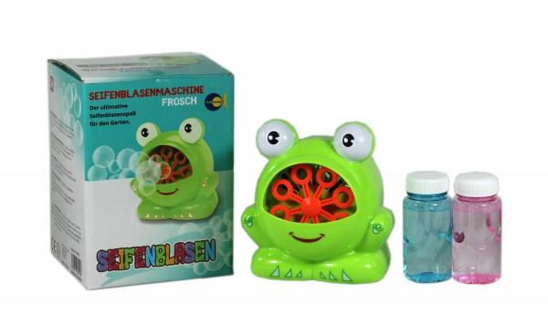 Seifenblasenmaschine Frosch