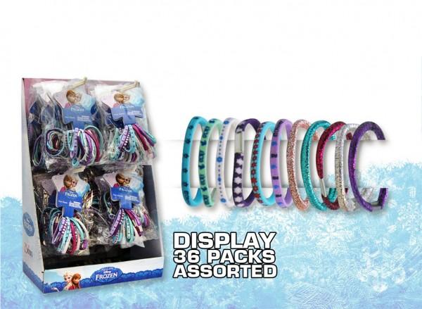 Frozen Haargummis im Display