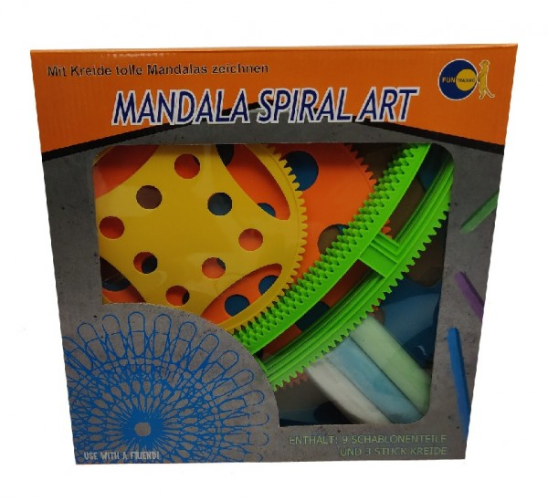 Kreide Mandala Spiral Art Set