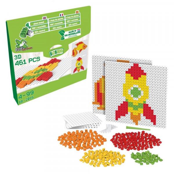 Pixel & Create Fisch und Rakete - 450 Teile