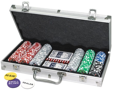 Poker Set 300er im Alu-Koffer
