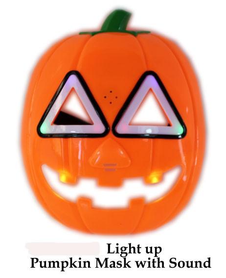 Halloween Maske mit Licht und Sound
