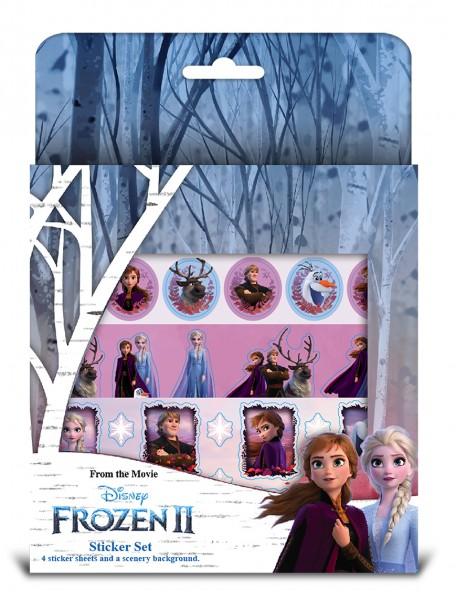 FROZEN II - Sticker Set mit Malblock