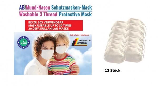 """Mund- und Nasenmaske """"waschbar"""""""