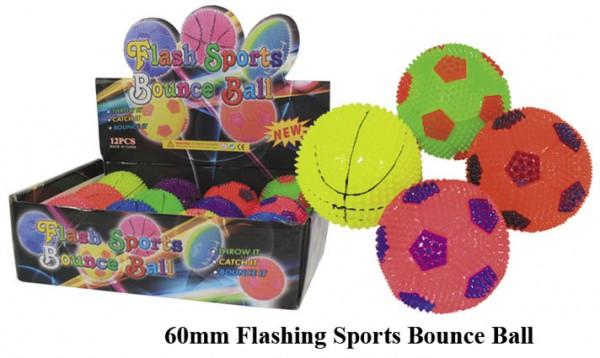 Sportball leuchtend 60 mm