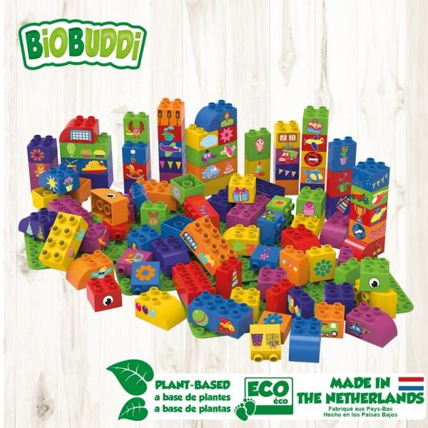 Basic Set 100 mit Basic Platten / Educational blocks with baseplates