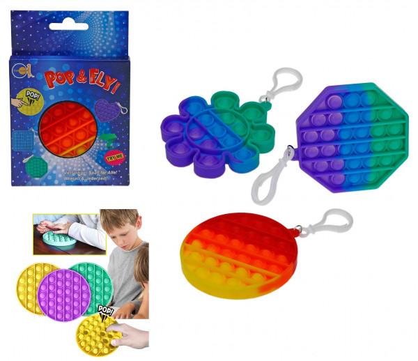 Pop&Fly Fidget - Rainbow - klein